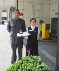 Kaffee gegen Knöllchen im The Westin Grand Hotel Frankfurt / Bildquelle: max.PR