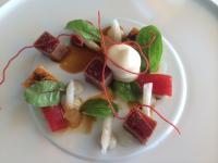 Thunfisch / Huhn an Tomate und Yuzu; Bildquellen rausch communications & pr