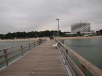 Die Seebrücke am Timmendorfer Strand