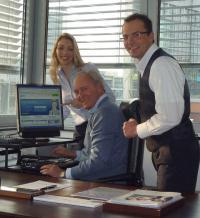 Tessa Wüllner, Hans R. Müller und Marcus Klar (v.l.) / Bildquelle: Alle Top International Hotels GmbH