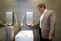 Öffentliche Sanitätbereiche werden untersucht