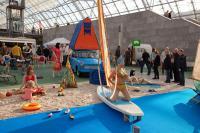 Impressionen aus 2009: Dübener Ei, Kofferradio Sternchen und Dreieck-Badehose: Das DDR-Museum Pirna zeigte in der Glashalle das wahre ostdeutsche Campingleben