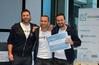 v.l.: Arthur Kullnig, Gernot G. Supp und Carlos Borges / Bildquelle: TripRebel GmbH
