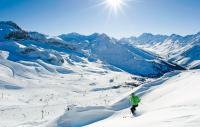Skifahren im Gelände