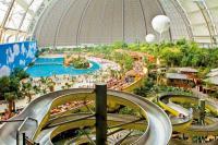 Aussicht vom Rutschenturm im Tropical Island / Bildquelle: Tropical Island Holding GmbH