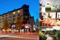Collage vom TRYP München City Center Hotel, gleichzeitig Bildquelle