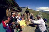 Umtrunk auf Schusterhütte - Ultental; Bildquelle Media Kommunikationsservice Ges.m.b.