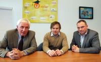 Im Bild von links: Dr. Thomas Giesen (Konzernbevollmächtigter für Datenschutz), Thomas Wagner (Gründer und Mitinhaber Unister), Frank Hillmer (Datenschutzbeauftragter von Unister) / Bildquelle: Unister Holding GmbH