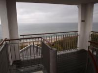 Die Aussichtsplattform oben auf dem Hotel mit Blick in alle Himmelsrichtungen, hier zur Ostsee; Alle Fotos © Sascha Brenning - Hotelier.de