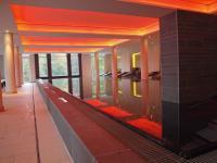 Der Pool im 1.300 qm großen BALTIC SPA