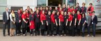 Alle Teilnehmer des Tafelwettbewerbs 2013 / Bildquelle: VEGA Vertrieb von Gastronomiebedarf GmbH