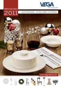 Titelbild des Weihnachtskataloges / Bildquelle: Alle VEGA Vertrieb von Gastronomiebedarf GmbH