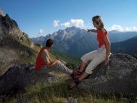 Auch Job-Sharing geht: Gemeinsam durchs Val di Fiemme.  Copyright: A. Campanile