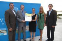 Große Auszeichnung für Valamar Hotels & Resorts: Das Valamar-Management freut sich über die Verleihung des TUI Holly Awards / Bildquelle: Valamar