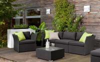 Die Lounge-Serie COMBINE - jetzt neu mit UV-beständigem, pflegeleichtem Textil