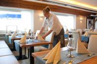 Das Restaurant im Vitalhotel Weiße Düne / Bildquelle: Vitalhotel Weiße Düne