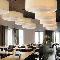 Großschirmleuchten mit Energiesparlampen von WKR-Leuchten GmbH