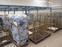 Die schmutzige Wäsche wird angeliefert... / Fotos alle © Sascha Brenning - Hotelier.de