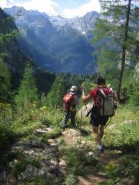 Beim Wanderfestival führen zahlreiche Touren durchs Reich von König Watzmann. Foto: Berchtesgadener Land Tourismus GmbH