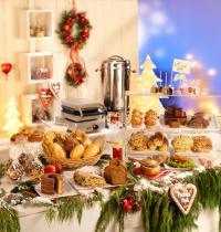 Weihnachten kann kommen - mit den Leckereien von EDNA; Bilderquelle EDNA