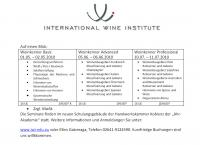Weinseminar zum Thema Weinsensorik