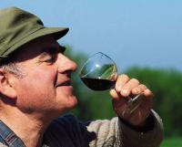 Ein Schoppen Wein darf nicht fehlen