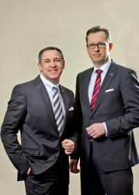 Mario Pick und Karsten Kritz, Geschäftsführer der Welcome Hotels; Agentur Karl & Karl®
