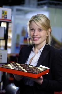 Geschäftsführerin Leitung-Vertrieb Sarah Wiebold / Bildquelle: Wiebold-Confiserie