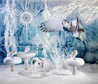 Winterdeko für's Schaufenster.............(Bilderrechte Deko Woerner GmbH)