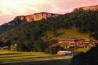 Das wunderschön gelegene Öko-Luxusresort Wolgan Valley Resort & Spa / Bildquelle: Alle Wolgan Valley Resort & Spa