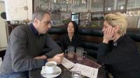 Christian Rach im Gespräch mit den Chefinnen der 'Wunderbar', Vicky Stellmacher (re.) und Katja Treudler