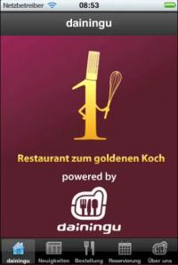 Das Gastro iphone app / Bildquelle: Xeno-Data GmbH