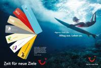"""Die neuen TUI Markenkampagne mit dem Claim """"Zeit für neue Ziele"""" startet bundesweit am 25. Dezember"""