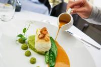 Das kulinarische Auswärtsspiel, Bild vom Restaurant Fritz Essensart; Fotocredit Sascha Perrone