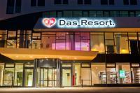 Der Eingang vom a-ja Das Resort Warnemünde / Bildquelle: a-ja Resort und Hotel GmbH