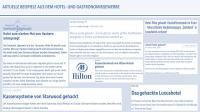Abb. 1: Aktuelle Beispiele Gastgewerbe / Bildquelle: Cyber Risk Agency GmbH