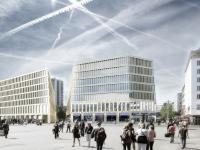 Innovatives Hotelprojekt in Bremen - Fassadenrendering / Bildquelle: Accor