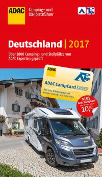 ADAC Camping- und Stellplatzführer Deutschland 2017 / Quelle: ADAC SE