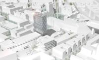 Entwurf Werksviertel / © Steidle Architekten