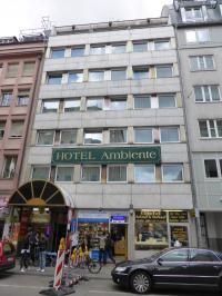 Ambiente Hotel in der Schillerstraße, Nähe München Zentrum
