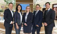 Martin Lachout, Dr. Renate Wimmer, Dorit Dubsky, Philipp Pratl, Patrick Verwilligen / Bildquelle: ARCOTEL Hotels