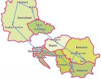 Übersichtskarte zur Balkan Rundreise