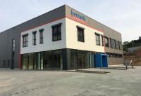 Neubau einer Firmenzentrale im neuen Mühltaler Gewerbegebiet / Bildquelle: Bertsch Hotelwäsche