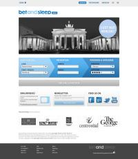 Die Startseite von betandsleep / Bildquelle: Alle lauffeuer Kommunikation GmbH
