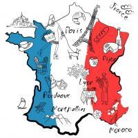 Die französische 'Genusslandkarte'