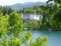 Sloweniens Alpenresort Bled, der Ex Amtssitz von Staatschef Tito, nun Hotelanlage