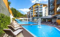 Bild: Außenansicht Blue Mountain Resort in Szklarska; Bildquelle horeko.de