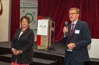 Frau Brigitte Zypries und Herr Dr. Andreas Marek, Geschäftsführer von WIRTEX, Bildquelle coaching-communication.org