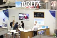 BRITA Stand bei den World of Coffee Meisterschaften; Bild: kl-company.de