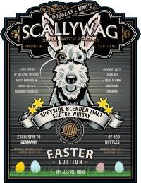 Scallywag Easter Label / Bildquelle: Bremer Spirituosen Contor GmbH